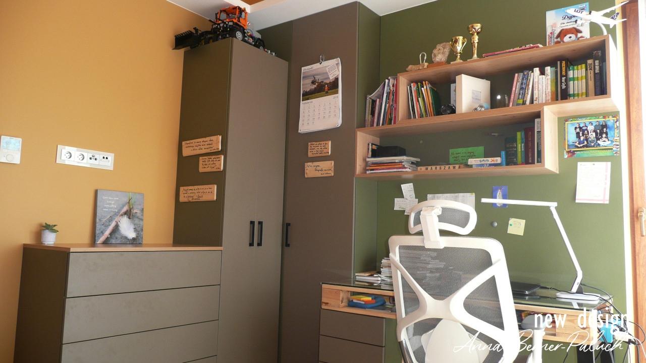 Pokój dziecka Architektura wnętrz  Anna Berner Paluch www.new-design.pl