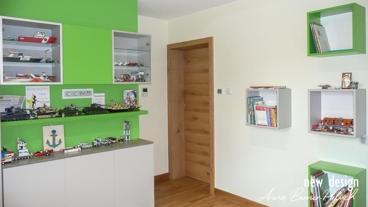 Pokój dziecka – Architektura wnętrz www.new-design.pl